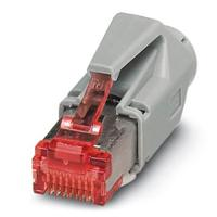 CONECTOR ENCHUFABLE RJ45, PHOENIX CONTACT IP20,8 POLOS, CAT6 - CUC-STD-C1PGY-S/R4E81