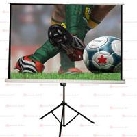 PANTALLA MULTIMEDIA SCREEN MST-183 TRIPIE PORTATIL 120 PULGADAS FORMATO 43
